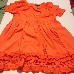 Eloquii Dresses - Eloquii orange dress size 24